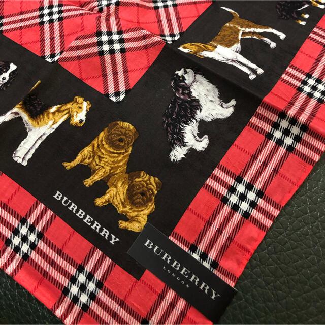 BURBERRY(バーバリー)のバーバリー ハンカチ 新品 レディースのファッション小物(ハンカチ)の商品写真