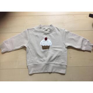 プティマイン(petit main)のプティマイン 裏起毛トレーナー 100(Tシャツ/カットソー)