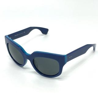 プラダ(PRADA)のプラダ アイウェア サングラス SPR07Q-A ブルー(サングラス/メガネ)
