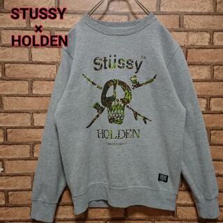 ステューシー(STUSSY)のSTUSSY×HOLDEN ステューシー × ホールデン コラボ スウェット(スウェット)