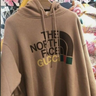 グッチ(Gucci)のGUCCI×North Face グッチ ノースフェイス パーカー(パーカー)