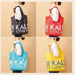カルディ(KALDI)のKALDI エコバッグ ブラック 黒 新品(エコバッグ)