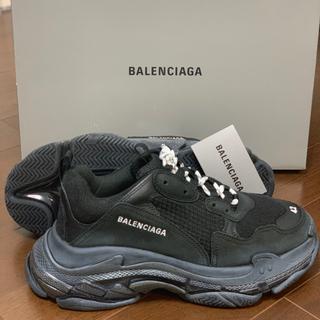 Balenciaga - バレンシアガ トリプルエス triple s トリプルs クリアソール ブラック