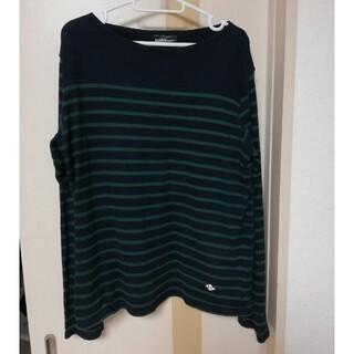 ビームス(BEAMS)のBEAMS HEART ビームスハート ボートネックカットソー メンズ サイズL(Tシャツ/カットソー(七分/長袖))