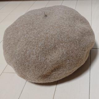 ビームスボーイ(BEAMS BOY)の【値下げ・新品】ビームスボーイ ベレー帽 ブラウン 57cm BEAMS BOY(ハンチング/ベレー帽)
