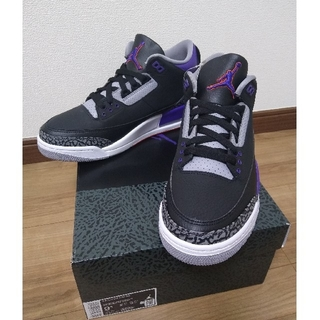 "ナイキ(NIKE)のNIKE AIR JORDAN3 RETRO ""COURT PURPLE""(スニーカー)"