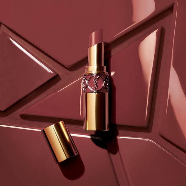 Yves Saint Laurent Beaute(イヴサンローランボーテ)のイヴサンローラン ルージュ ヴォリュプテ シャイン No.76 コスメ/美容のベースメイク/化粧品(口紅)の商品写真