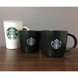Starbucks Coffee - スターバックス ☆マグカップ3点セット  おまけつき