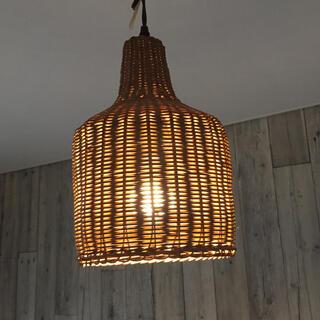 ジャーナルスタンダード(JOURNAL STANDARD)のACME Furniture WICKER LAMP ウィッカーランプ(天井照明)