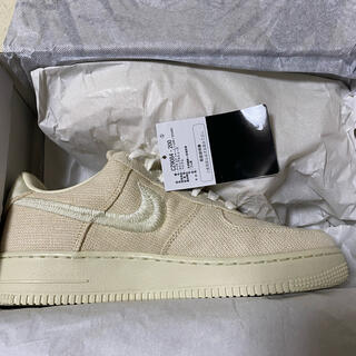 STUSSY - STUSSY NIKE AIR FORCE 1 LOW FOSSIL 26.5