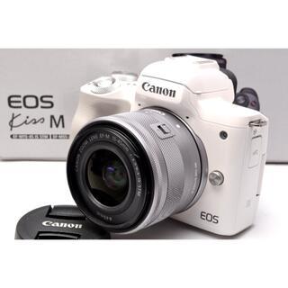 Canon - 極美品❤️Wi-Fi&Bluetooth内蔵❤️キャノン EOS Kiss M