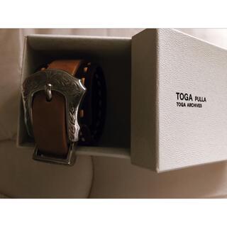 TOGA - TOGA ステッチレザーメタルバングル