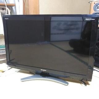 SHARP - 【美品】シャープAQUOS液晶カラーテレビ(LC-32E7)
