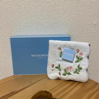 WEDGWOOD - 【新品未使用】WEDGWOOD ハンカチ