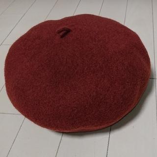 ビームスボーイ(BEAMS BOY)の【値下げ・新品】ビームスボーイ ベレー帽 ブラウン BEAMS BOY(ハンチング/ベレー帽)