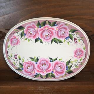 文字お入れします♪薔薇のウエルカムボード トールペイント (ウェルカムボード)