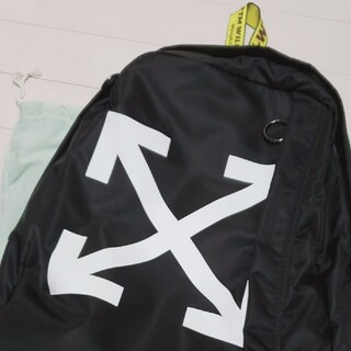 OFF-WHITE - OFF-WHITE バッグ バックパック リュック正規店購入品オフホワイトアロー