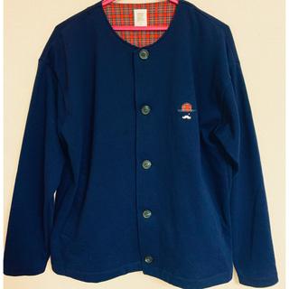 グラニフ(Design Tshirts Store graniph)の[美品]グラニフ 紺トップス(Tシャツ/カットソー(七分/長袖))