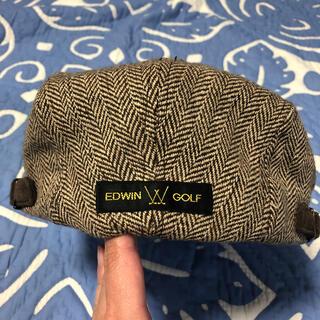 エドウィン(EDWIN)のEDWIN GOLF ハンチング帽子(ウエア)