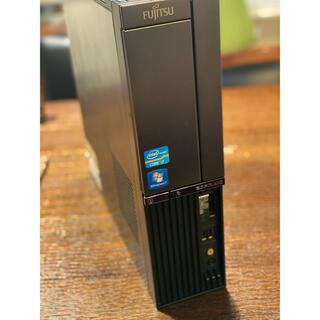 富士通 - Windows10 core i7 デスクトップPC