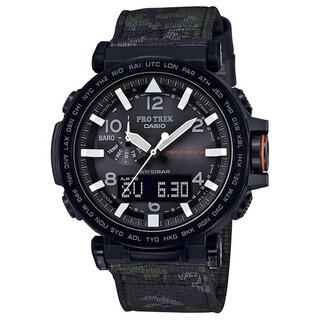 カシオ(CASIO)の【新品】CASIO PROTREK PRG-350YBE-3JR ナイトサファリ(腕時計(アナログ))