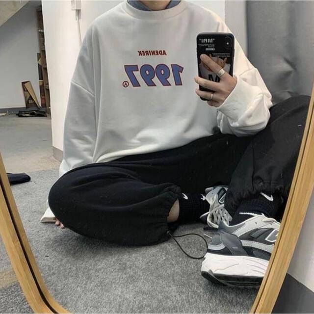 HARE(ハレ)の【即発送可】ゆるダボ♡ 1997 ユニセックスニット 韓国ファッション メンズのトップス(ニット/セーター)の商品写真