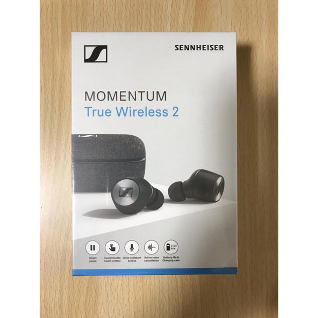 SENNHEISER(ゼンハイザー)の並行新品 ゼンハイザー MOMENTUM True Wireless 2 黒 スマホ/家電/カメラのオーディオ機器(ヘッドフォン/イヤフォン)の商品写真