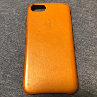 アップル(Apple)のApple純正 iPhone 7/8 レザーケース(iPhoneケース)