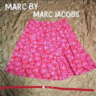 マークバイマークジェイコブス(MARC BY MARC JACOBS)のMARC BY MARC JACOBS 花柄 スカート(ひざ丈スカート)
