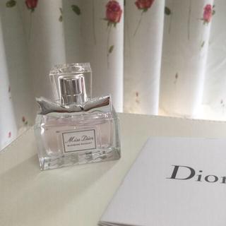 クリスチャンディオール(Christian Dior)の新品未使用クリスチャンディオール ミスディオールブルーミングブーケ香水7.5ml(香水(女性用))