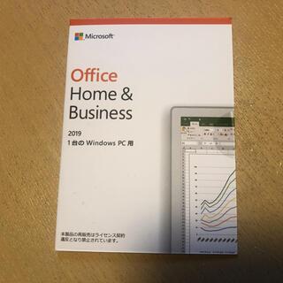 マイクロソフト(Microsoft)のOffice2019 Home&Business 新品(PC周辺機器)