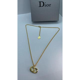 クリスチャンディオール(Christian Dior)のクリスチャン ディオール CDロゴネックレス ヴィンテージ R96(ネックレス)