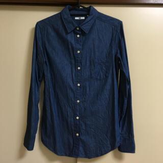 ユニクロ(UNIQLO)の☆UNIQLO☆コットンシャツ(シャツ/ブラウス(長袖/七分))