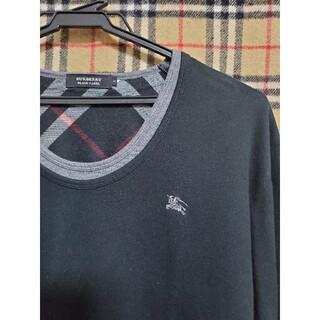 バーバリーブラックレーベル(BURBERRY BLACK LABEL)の激安!人気デザインロンT!(Tシャツ/カットソー(七分/長袖))