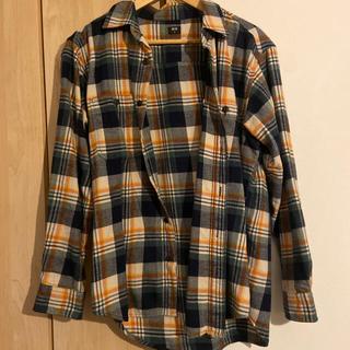 ユニクロ(UNIQLO)のユニクロ チェックシャツ  Mサイズ(シャツ)