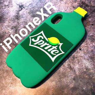 アップル(Apple)の残り1つ!iPhoneXRケース★ペットボトル スプライト シリコンケース(iPhoneケース)
