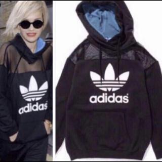 adidas - 希少 adidas originals× Rita Ora メッシュ パーカー
