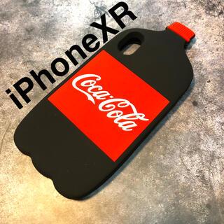 アップル(Apple)の残り1つ!iPhoneXRケース★ペットボトル コーラ シリコンケース(iPhoneケース)