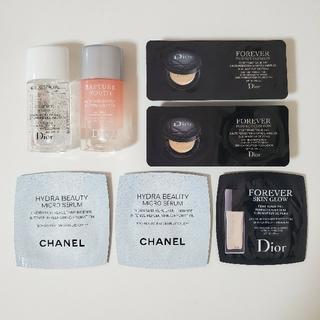 ディオール(Dior)のDior CHANEL 化粧品サンプル(サンプル/トライアルキット)