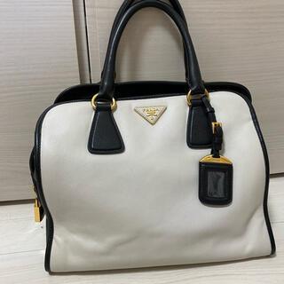 PRADA - 正規品【PRADA】バイカラーハンドバッグ