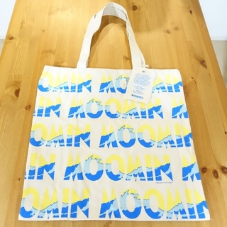 【新品】 ムーミン トートバッグ 非売品 ロゴ(トートバッグ)