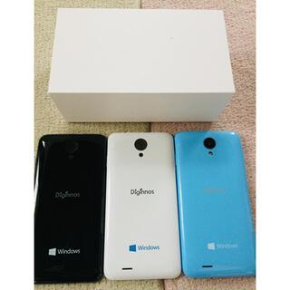 かわいいスマホ Windows10モバイル フリーSIM 楽天モバイルなど対応