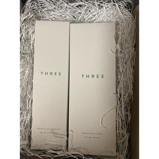 スリー(THREE)のTHREE  化粧水 乳液 セット(化粧水/ローション)