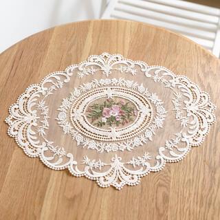 ホワイト テーブルクロス テーブルマット ランチョンマット 韓国インテリア