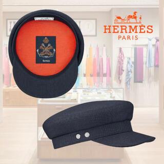 Hermes - 新品未使用 エルメス 帽子 キャスケット ハンチング ヴォーバン