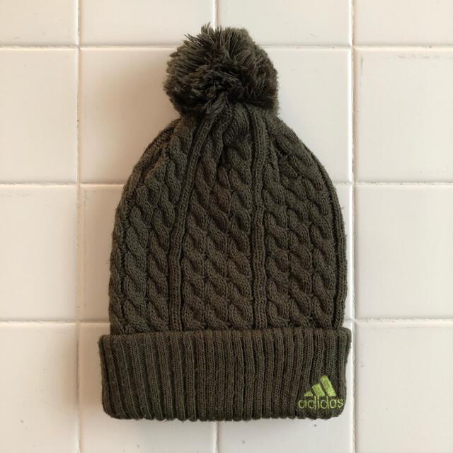 adidas(アディダス)のadidas アディダス ニット帽 レディースの帽子(ニット帽/ビーニー)の商品写真