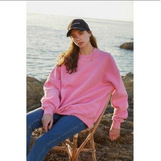 SeaRoomlynn - searoomlynn VOLUMEスウェットプルオーバー 新品 ピンク