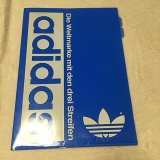 アディダス(adidas)のアディダス  クリアファイル 書類入れ(ファイル/バインダー)