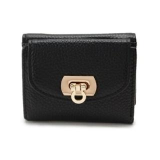 ユナイテッドアローズ(UNITED ARROWS)のほぼ未使用 アンサンブル ブラック 財布 ミニ(財布)