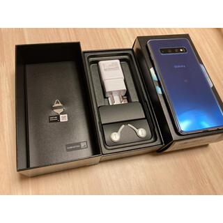 Galaxy - 楽天版 Galaxy S10 SIMフリー Blue 美品